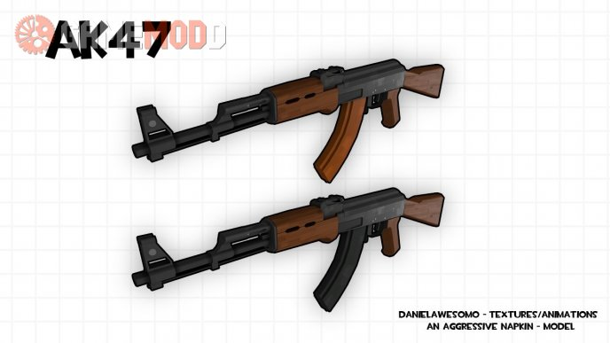 AK47 for Sniper