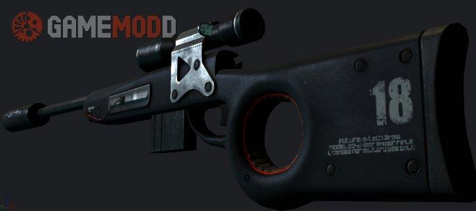 Future-o-tech terrible sniper