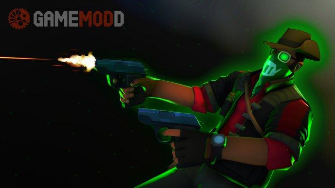 Dual Pistols for sniper's SMG
