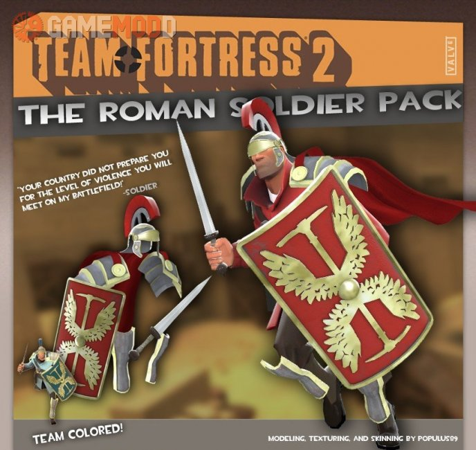 The Roman Soldier Pack