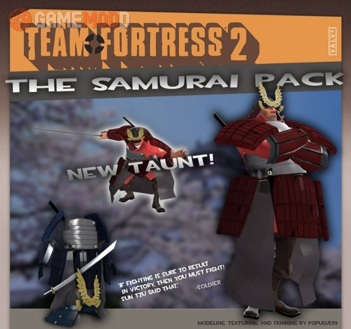 The Samurai Soldier Pack