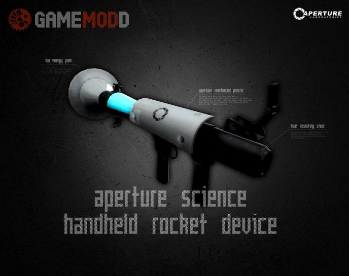 Aperture Science Handheld Rocket Device