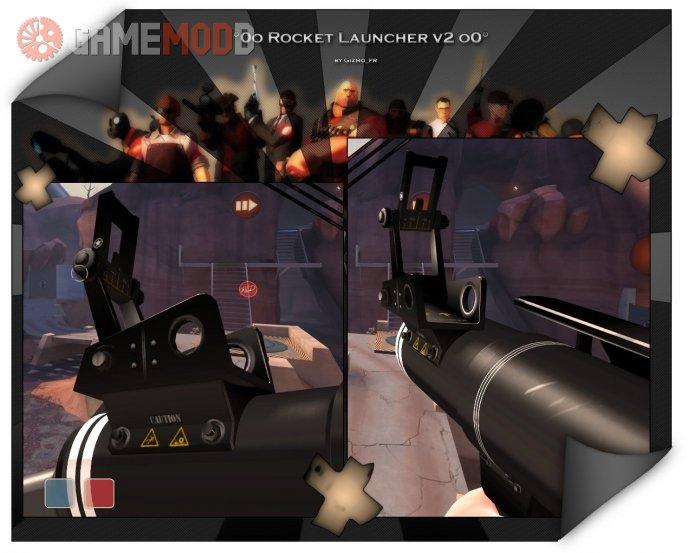 Skull rocket launcher v2