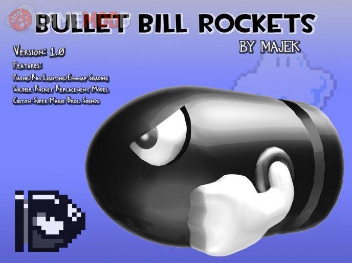 Bullet Bill Rockets