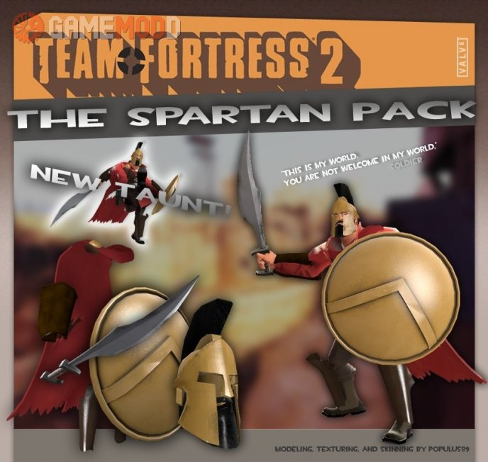 The Spartan Soldier Pack