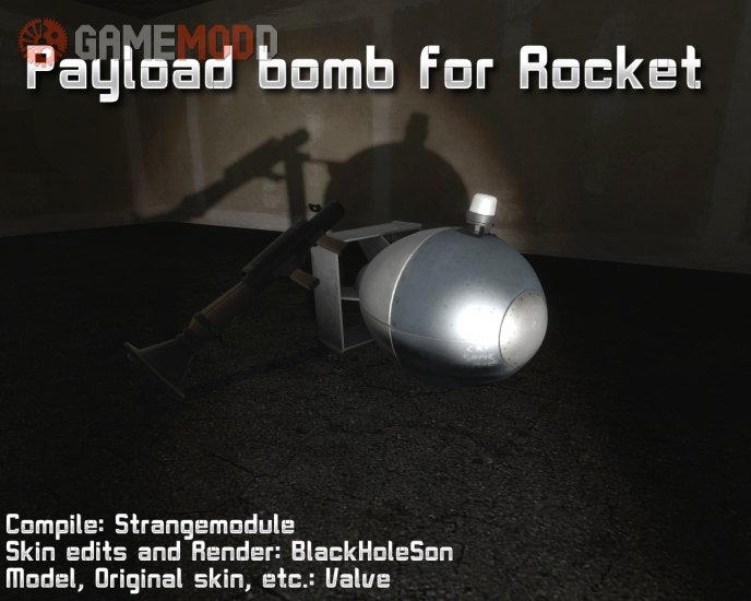Payload bomb for Rocket