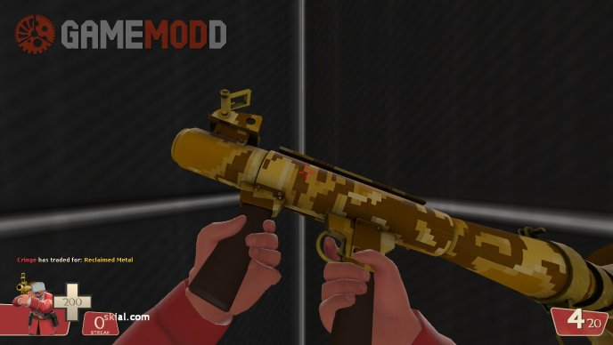 Sand Cannon Rocket Launcher Factory New Skin