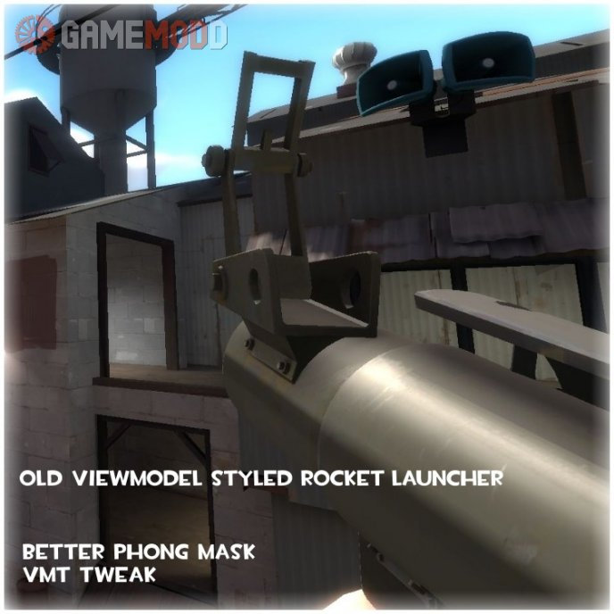 Old Viewmodel Style Rocket Launcher