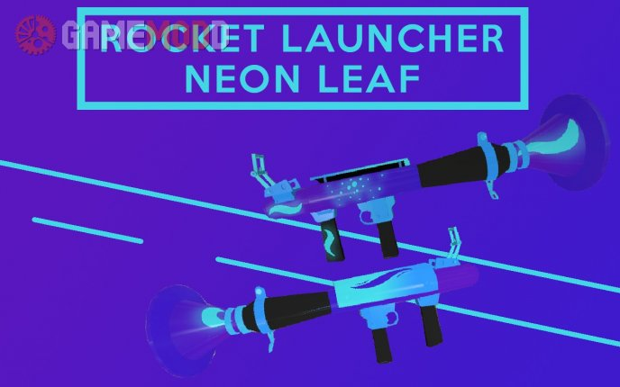 Rocket Launcher - Neon Leaf