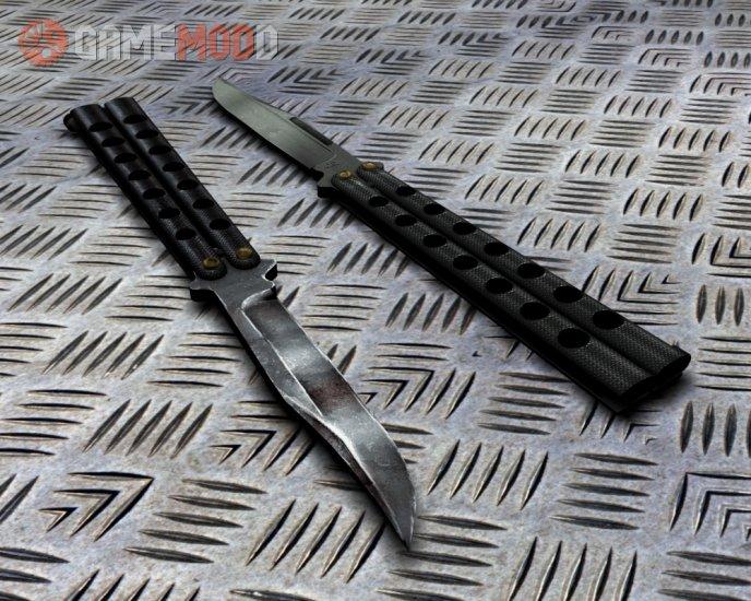 Butterfly knife (Custom model)