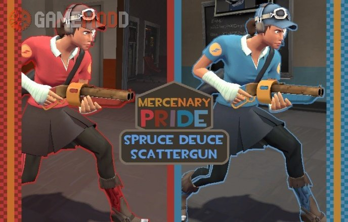 Mercenary Pride: Spruce Deuce Scattergun