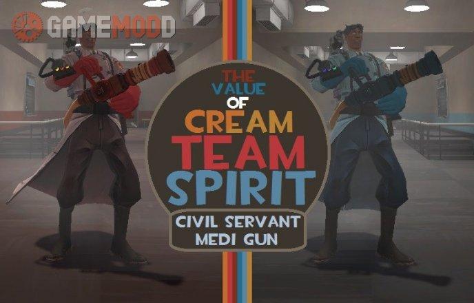 The Value of Cream Team Spirit: Civil Servant