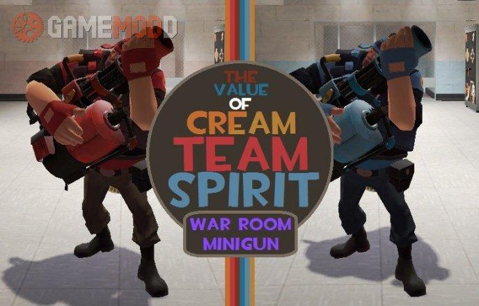 The Value of Cream Team Spirit: War Room