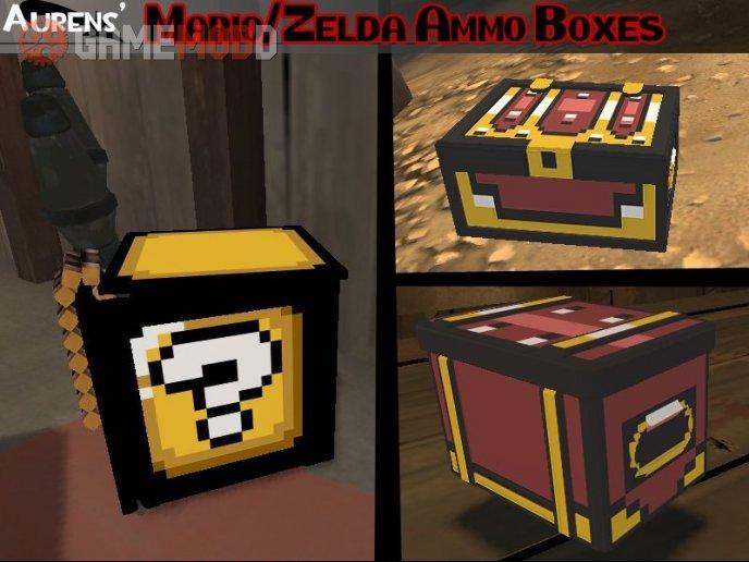 Aurens' Mario/Zelda Ammo Boxes