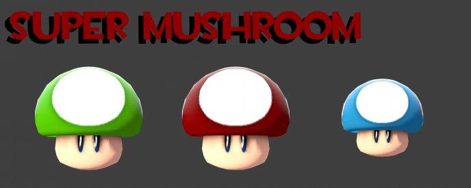 Super Mushroom Medkit