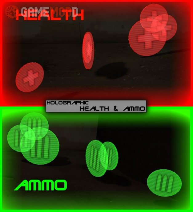 Holographic Health-Ammo
