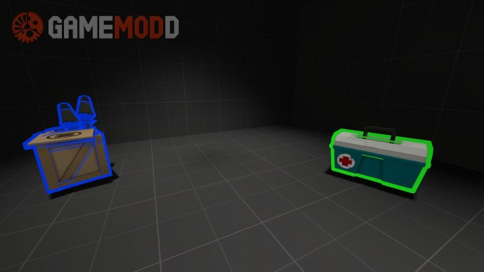 High Vis Ammo Packs and Med Kits V2
