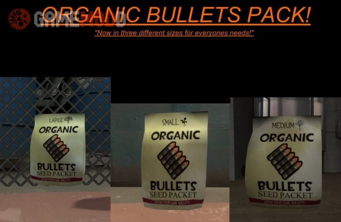 Organic Bullets - PACK!