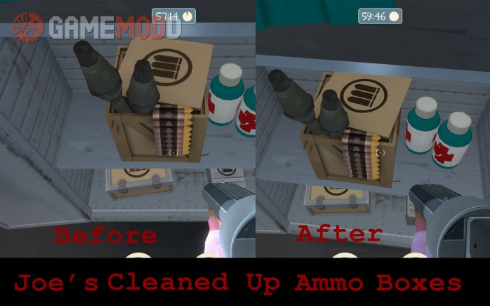 Cleaned Up Ammo Boxes