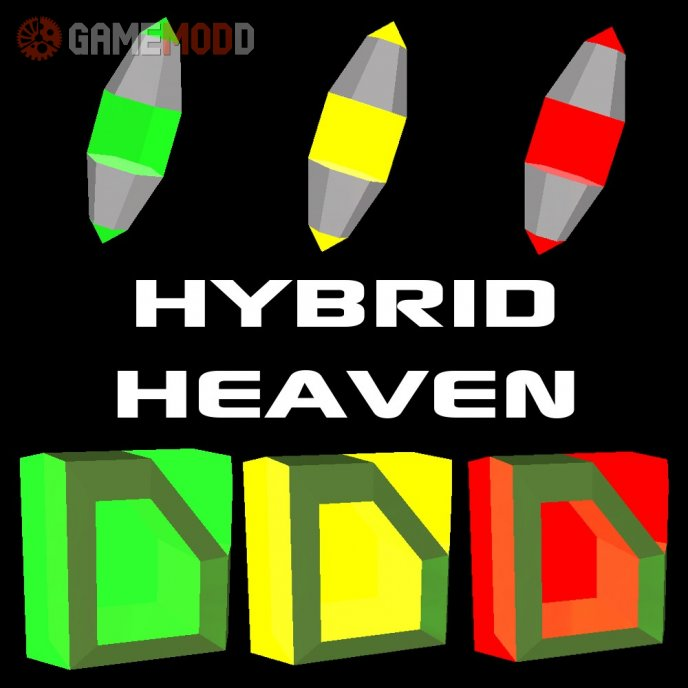 Hybrid Heaven - Ammo/Health Pickups