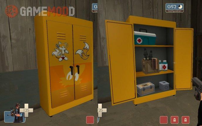 Tails resupply locker