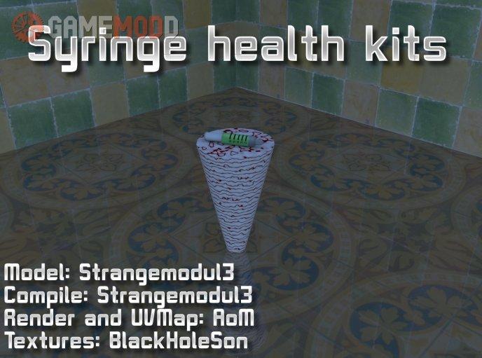 Syringe Heal Items