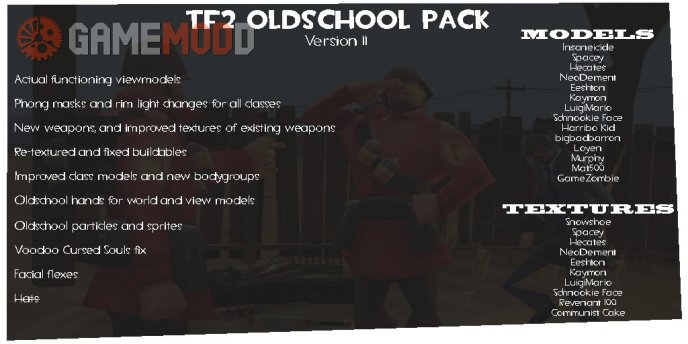 TF2 Oldschhool Pack Release 11