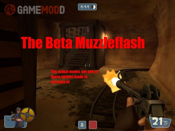 The Beta Muzzleflash(NOT a sprite)