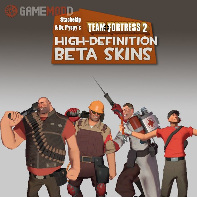 High-Definition Beta Player Skins