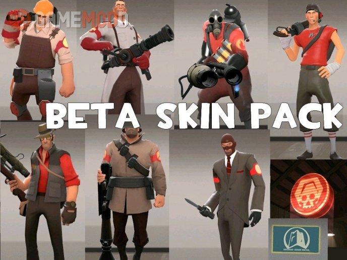 Beta skin pack