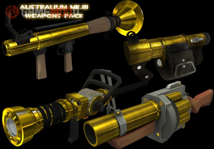 Australium MK.III Weapons Pack Part 1
