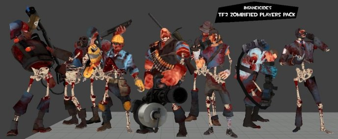 TF2 Zombified Players Pack