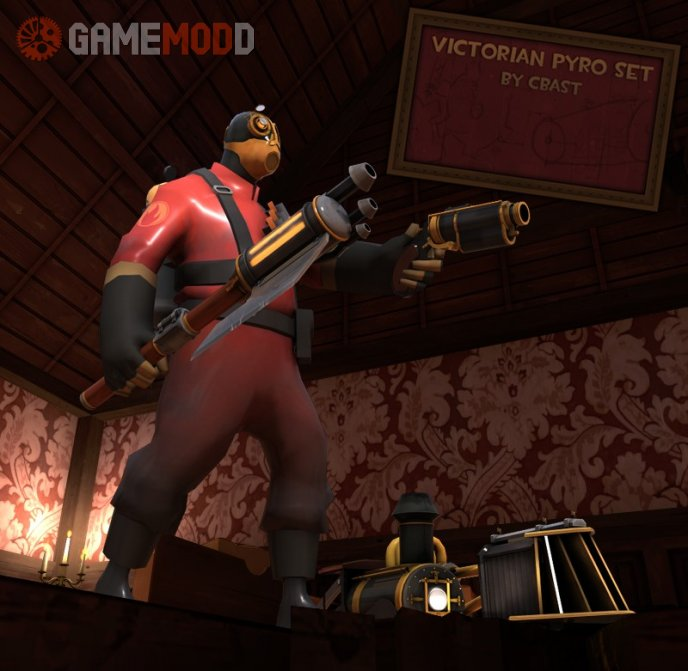 The Victorian Pyro Set