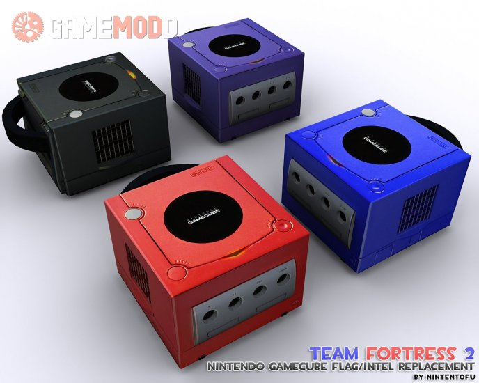 Nintendo Gamecube Intel/Flag