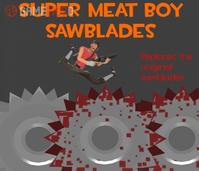 Super Meat Boy Sawblades