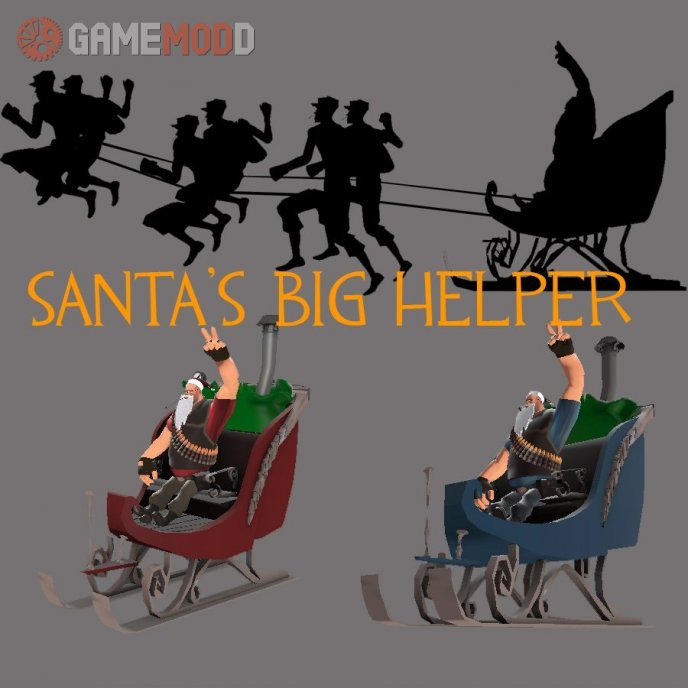 Santa's Big Helper