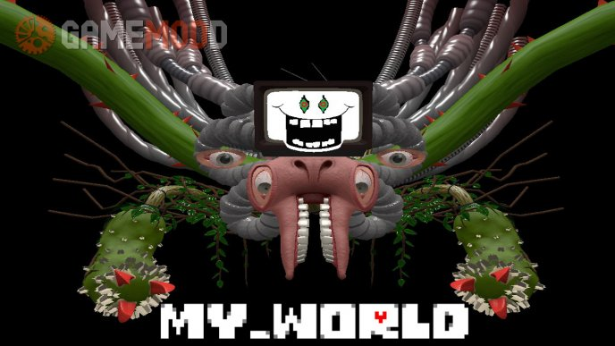 my_world - Omega Flowey boss fight