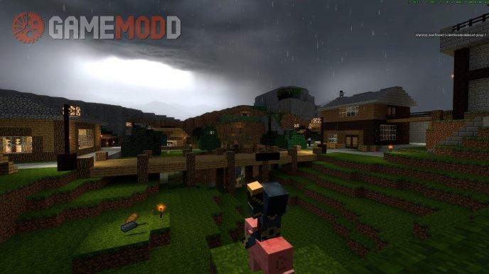 Trade Minecraft River (Rain)
