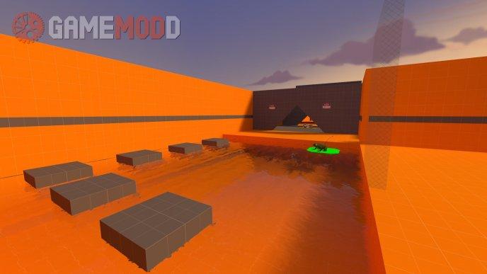 dr_orange - deathrun map