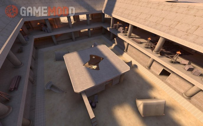 arena_courtyard realistic map