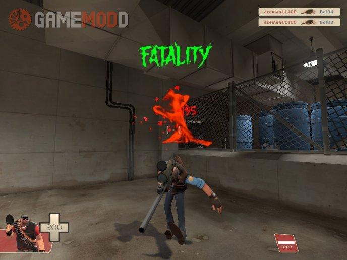 Tf2 Mortal kombat crit reskin