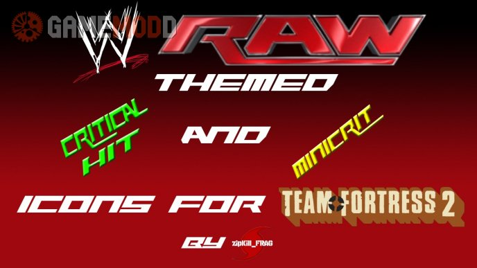 WWE Raw Themed Crit Icons