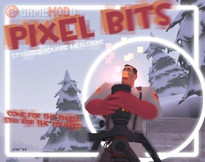 PIXEL BITS : Stylized Square Healsigns