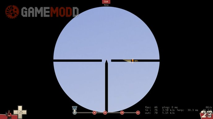 German Style Scope Reticle