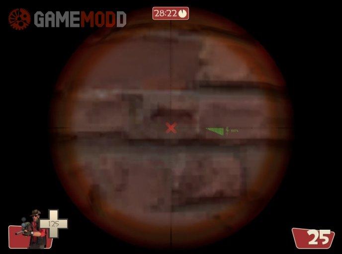 New sniper dot