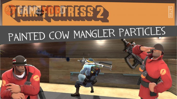 Painted Cow Mangler Particles