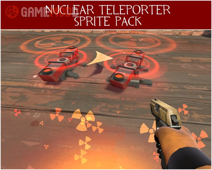 Nuclear Teleporter Effect Pack