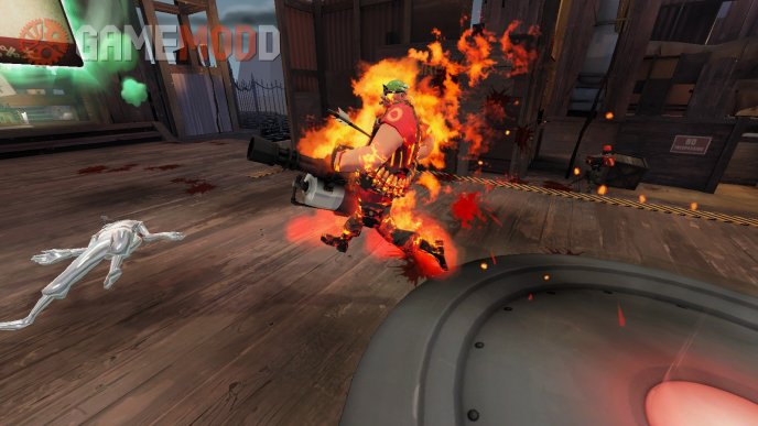 TF2 Texture Improvement Project: Flames