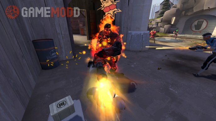 TF2 Texture Improvement Project: Muzzleflashes