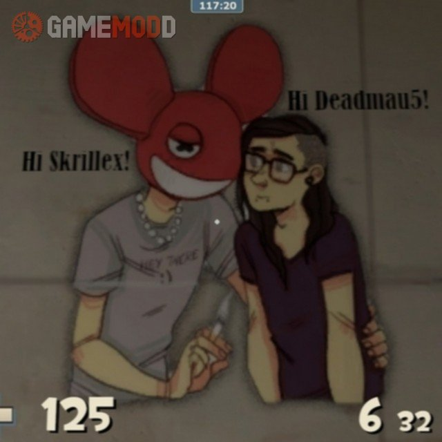 Deadmau5 and Skrillex spray